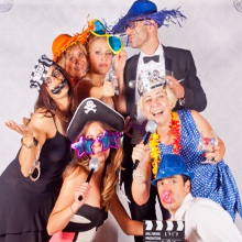 Fun photo booths and photo calls at weddings
